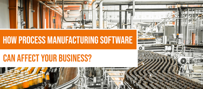 Using Process Manufacturing Software to upgrade your Business