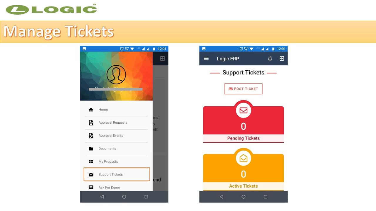 Logic ERP Mobile App