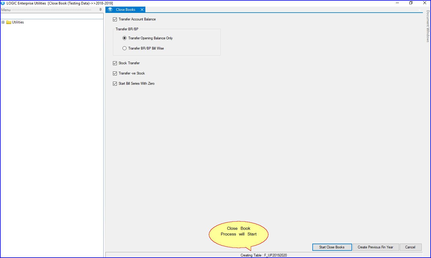 CloseBook-ProcessStart