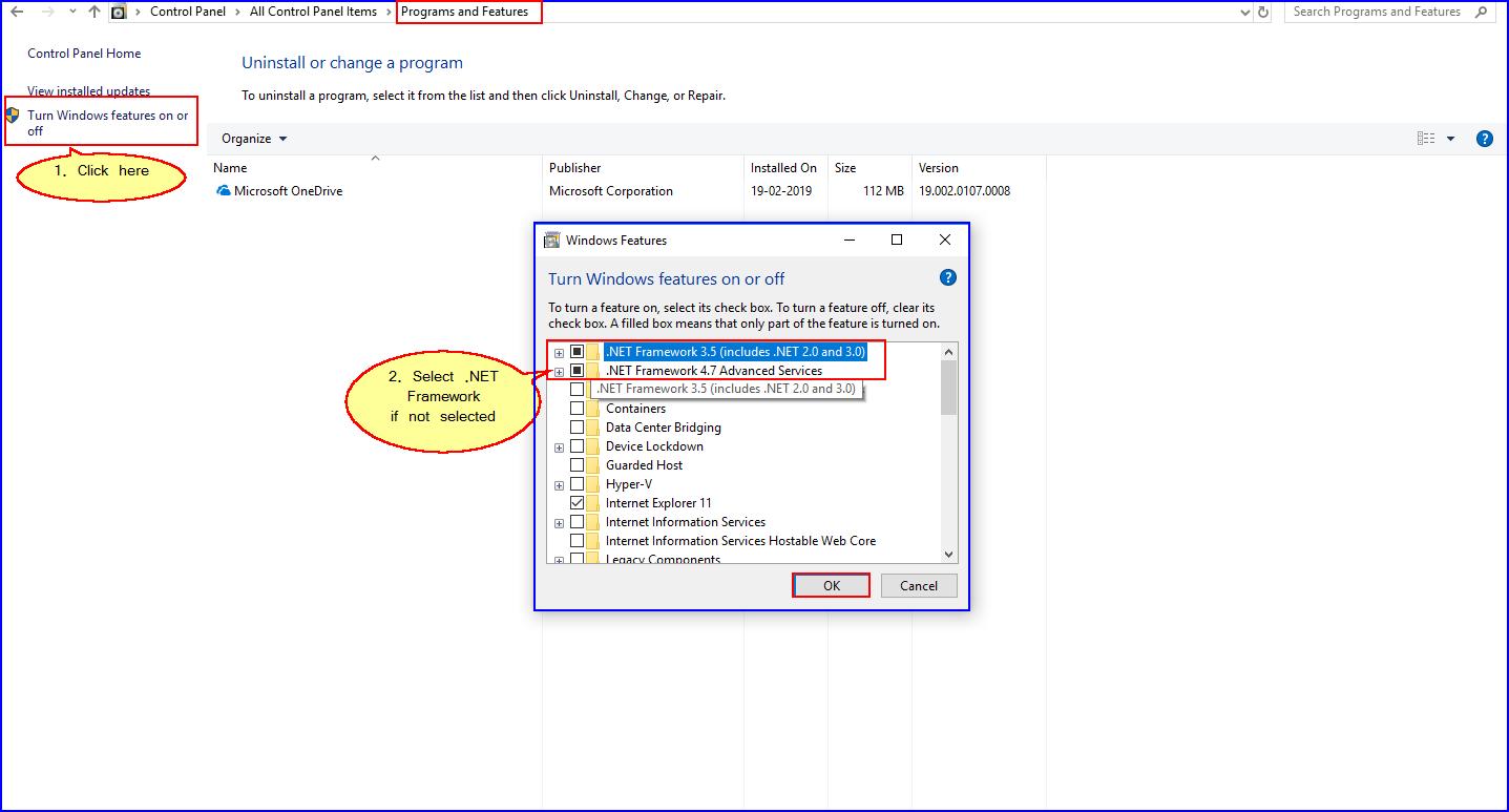 How to Install  NET Framework in Windows 10? – Logic ERP