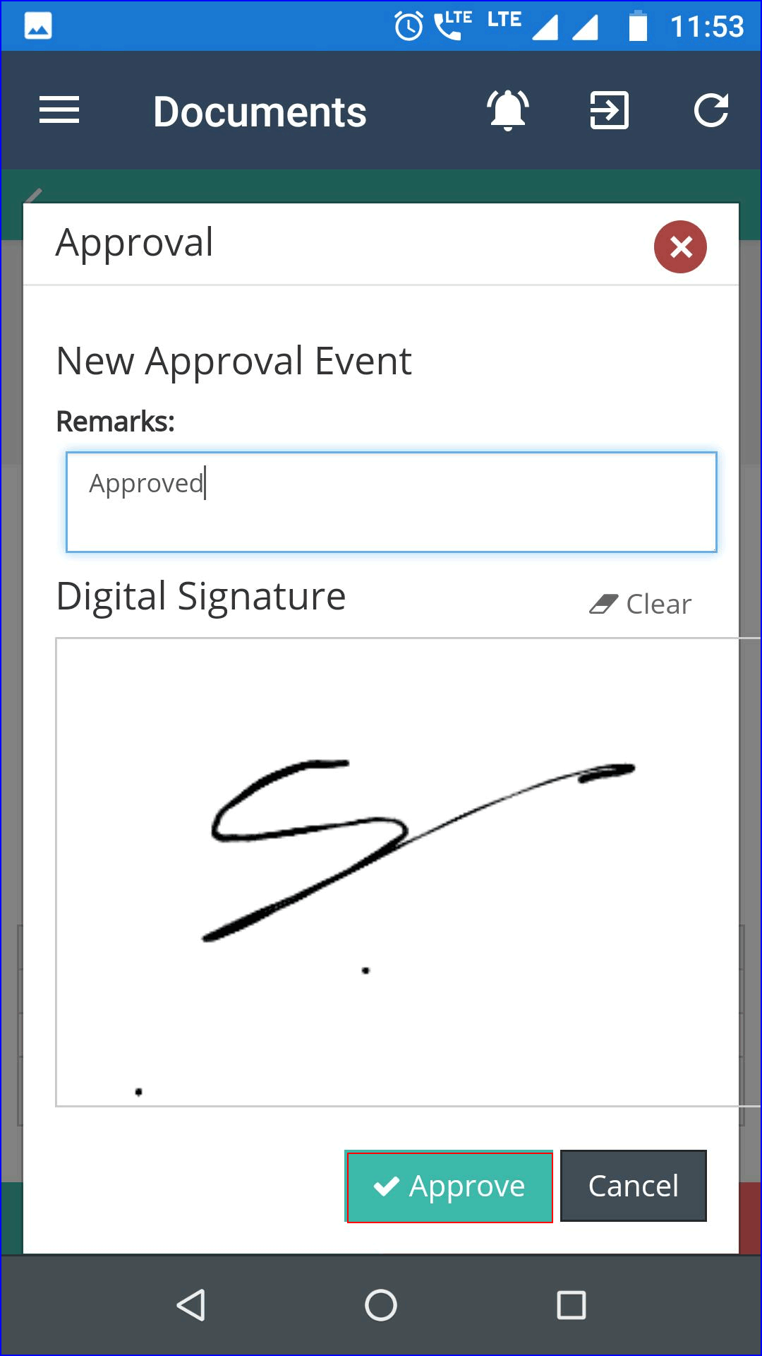 Required-Signature-for-Approval