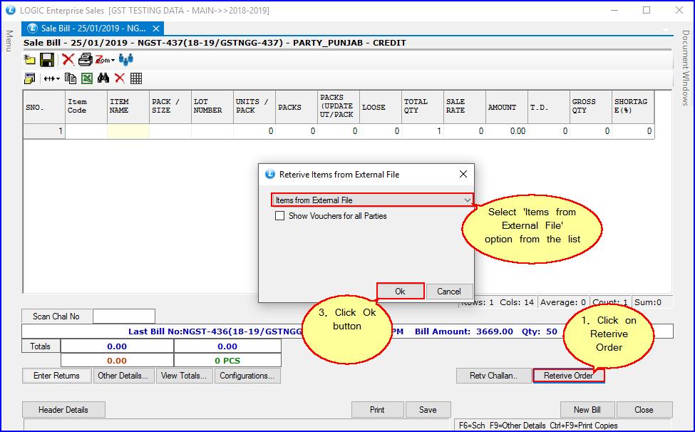 Retrieve File from external source