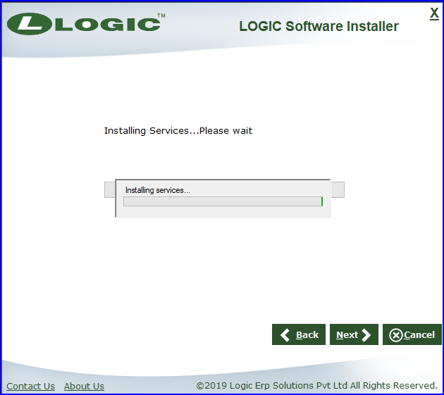 Services-Installing
