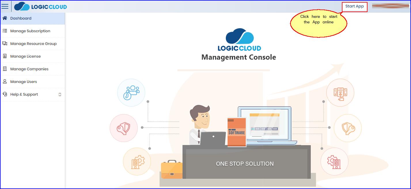 LOGICcloud-CustomerStartApp