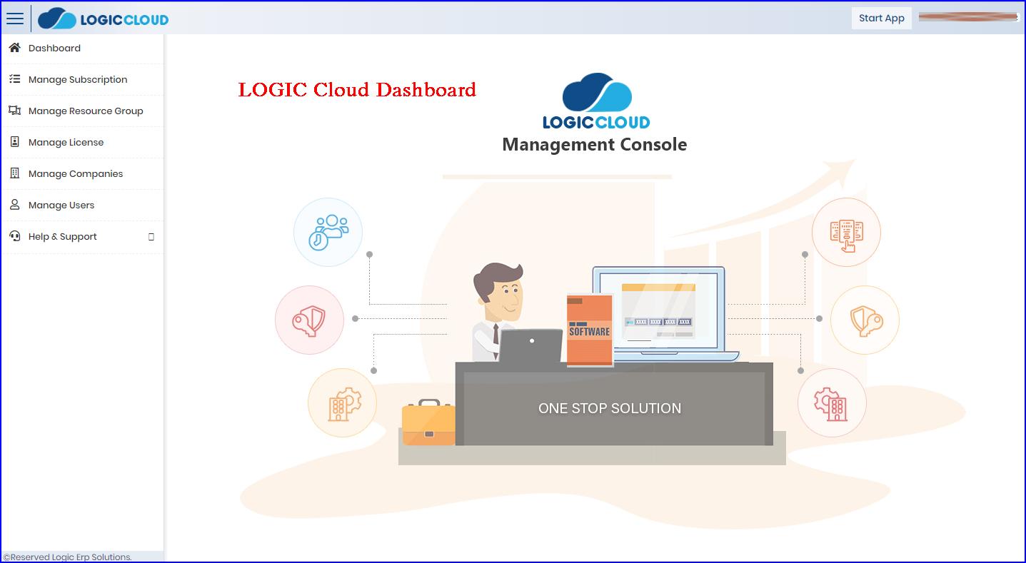 LOGICcloud-Dashboard