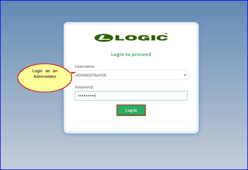 LOGICcloud-LoginAsAdmin