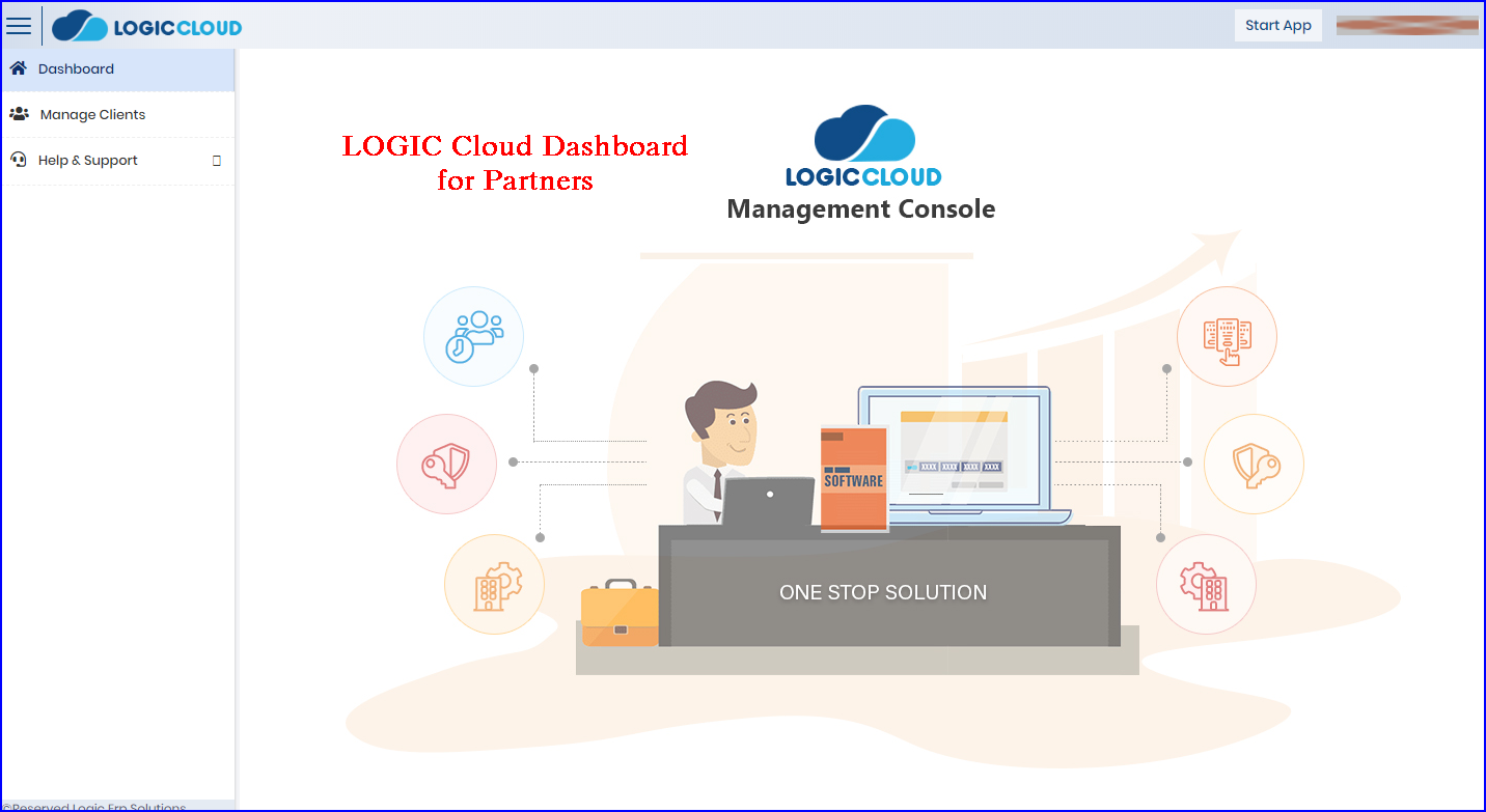 LOGICcloud-Partner-Dashboard