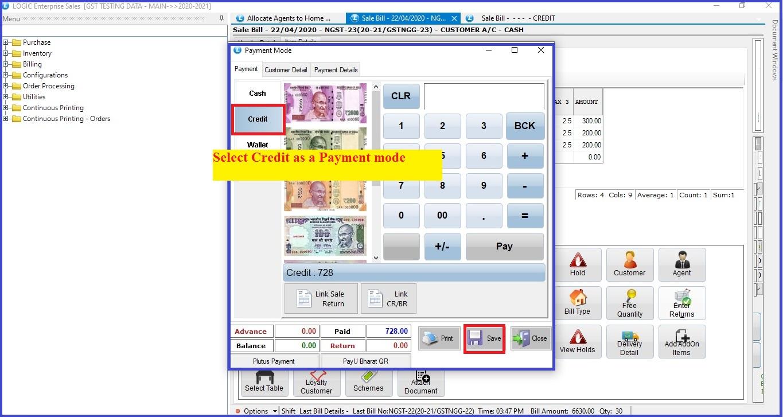 Credit-card-payment-mode